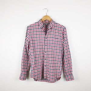 Uniqlo Checkered Button Down Blouse